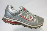 NIKE Air Max 360 Silver Sz 13 Men Leather Running Shoes