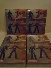 SET OF 4 1/24 SCALE MARVEL IRON MAN 3 MODEL KITS BY DRAGON MODELS NEW IN BOXES