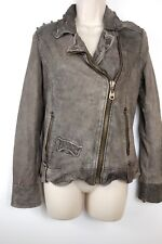 Doma Leather Jacket with Studs, DOMA Leather Jacket, Doma size S
