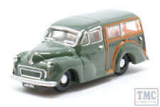NMMT008 Oxford Diecast N Gauge Morris Minor Traveller Almond Green (Dot Cotton)