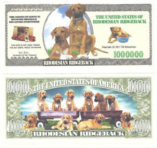 Dollar Rhodesian Ridgeback One Million Doggie Bones