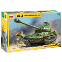 ZVEZDA 3524 Soviet Heavy Tank IS-2 Joseph Stalin-2 Model Kit 1/35