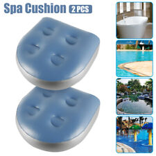 More details for 2 x home spa booster seat inflatable spa cushion hot tub accessories adult kids
