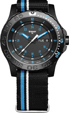 Traser 105545 P66 Tactical Mission Blue Infinity Stainless Steel Mens Watch £400