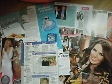 lot de coupures de presse NATACHA AMAL clippings