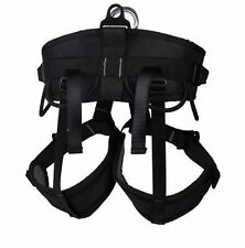 Pro rescue Climbing Harness for Mountaineering Rock Half Body belts Adjustable
