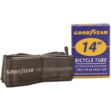 "Goodyear 91074 Bicycle Tube, For Use With 14"" X 1-3/4 - 2-1/8"" Bicycle Tires,Blk"