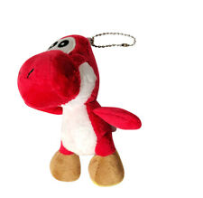 "Super Mario Yoshi Keychain 4.5"" Plush Toy (Red)"