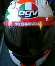 Yoshimura helmet sun visor decal / sticker / emblem ( NOS ) RARE