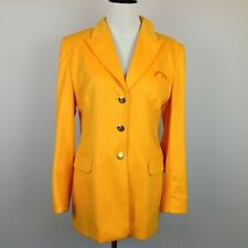 Escada Blazer Jacket Womens 38 8 Angora Wool Mango
