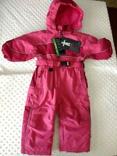 The Childrens Place Sz 12 Months Snow Suit Girls Pink Thermolite Plus NWT
