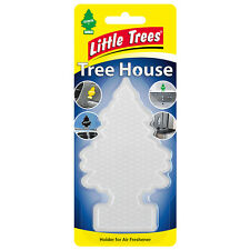 Little Trees, Tree House, Car Air Freshener Holder - Clear