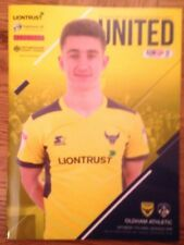 Oxford United v Oldham Athletic - league 1 : Played 7th April 2018 - Mint