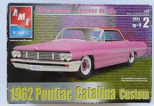 Vintage Amt Ertl 1962 Pontiac Catalina Custom 1:25 Scale