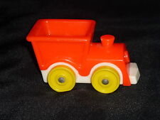 Fisher Price Little People Vintage Nursery Baby Orange Toy TRAIN Ride
