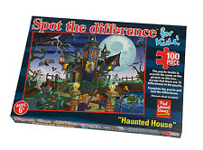 Spot The Difference Haunted House 100 Piece Paul Lamond Jigsaw