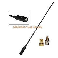 Flex Whip Handheld Antenna Garmin Alpha 100 Astro 320 220 BNC & Quick Connects