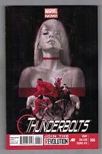 THUNDERBOLTS #6 - STEVE DILLON ART - JULIAN TOTINO TEDESCO COVER - 2013