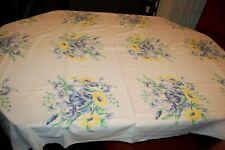 """St Regis Vintage Mid-Century Table Cloth 50"""" x 65"""""""