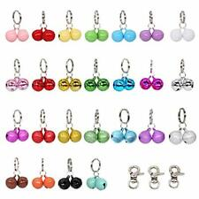New listing 50 Pack Dog & Cat Collar Bells Charm Multiple Colors Loud Small Multi-colored