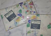 NIP VTG Wamsutta Twin Sheet Set Supercale Plus Ambrosia 50% Cotton 50 Polyester