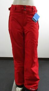 NWT Mens Columbia Arctic Trip OH Insulated Waterproof Snow Ski Pants - Red