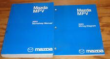 Original 2003 Mazda MPV Van Shop Service Manual + Wiring Diagram Set 03