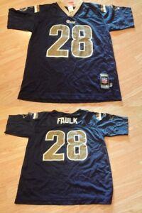 Youth St Louis Rams Marshall Faulk L (14/16) Jersey Reebok Jersey