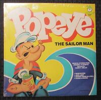 1978 Popeye The Sailor Man LP Peter Pan Records 8184 SEALED