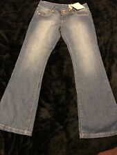 NEW LOOK YES SKINNY FLARE JEANS SIZE 12 BNWT