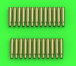 Master Model 1/16 M1919 Browning .30 caliber 7.62mm empty shells 25pcs GM-16-003