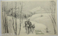 """ Navidad, Niños, Abeto "" 1912 , V. K. Vienne 5101 (7047)"