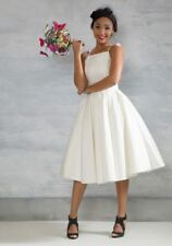 """""""chi Chi London"""" Beloved and Beyond Midi Ivory Prom Dress Size 8"""