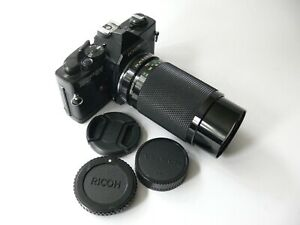 Porst compact reflex OV mit Soligor 4,5/80-200mm (funktioniert)
