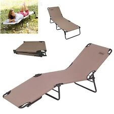 Camping Foldable Cot Lounge Chair Portable Personal Sleeping Gear Camp Furniture