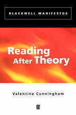 Reading After Theory (Blackwell Manifestos)-ExLibrary