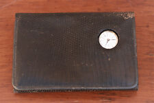 Bailey Banks and Biddle Sterling banded, Swiss Watch Leather Wallet