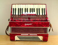 Weltmeister musical instrument accordion Germany - 5 registers   80 bass