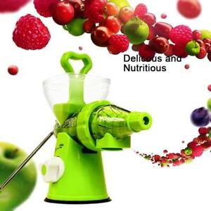 Manual Multi-Purpose Crank Juicer With Suction For Kitchen Use