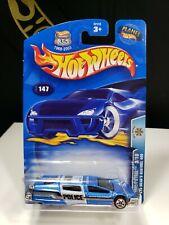 2003 HOT WHEELS ROLL PATROL SYD MEAD'S SENTINEL 400 POLICE LIGHT BLUE - P1