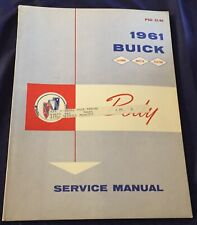 AM224 1961 Buick Body Service Manual PSD 53-66