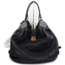 Louis Vuitton Hand Bag M95547 XL Black Mahina  1408950