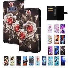 For Samsung Galaxy S10e S10 plus Card Wallet Flip Leather Phone Stand Case Cover