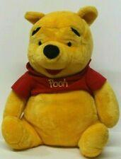 "Winnie The Pooh Bear Large Plush Toy Stuffed Animal 22"" Tall Seated"