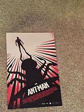 ANT-MAN - Movie Poster - Flyer  11 X 17 - PAUL RUDD - MICHAEL DOUGLAS - AMC IMAX
