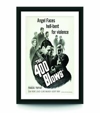 The 400 Blows Movie Poster, No Frame Art Style Decor Home Decor, Poster For Gift