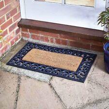Natural Plain Brush Coir Doormat Insert 53 X 23cm