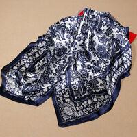 Seidentuch Seidenschal tuch schal scarf 100% Seide silk NEU Größe 85CMX85CM
