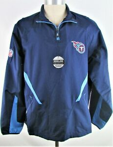 Tennessee Titans NFL Men's Reebok Onfield Game day Pullover Jacket