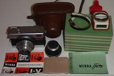 Kamera CARL ZEISS Werra + T 1:2,8 f=50 (Zeiss Tessar) + Tasche+OVP+Anleitung